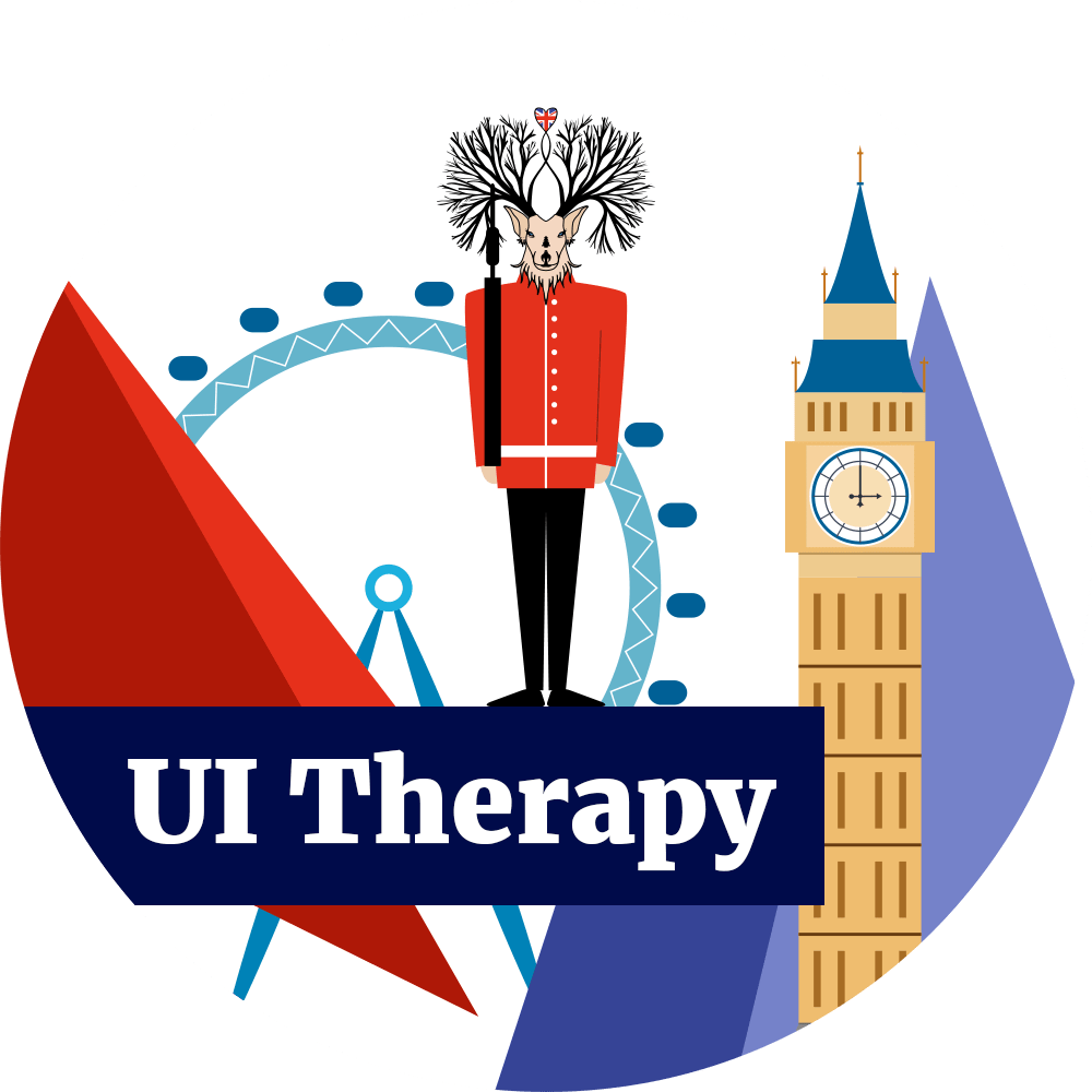 White Hart - UI Therapy Logo - London Themed